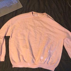 Pink and Blue sweatshirts